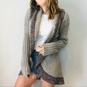 Cabi chunky knit oversized cardigan